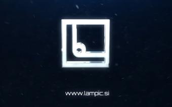 Silver Dissolve Logo Reveal