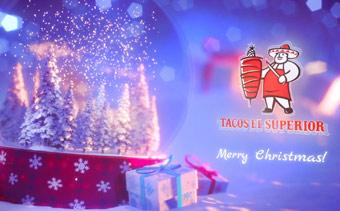 Globo de Nieve Navidad Mágica