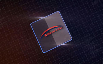 Technologie-Kapsel Logo Reveal