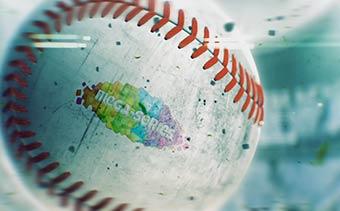 3D Sport Balls Logo Reveal