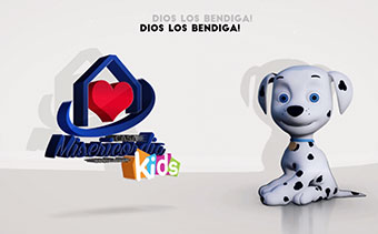 Despliegue Logotipo Caricatura Canina 3D