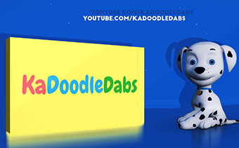 3D Cartoon Dog Logo Reveal