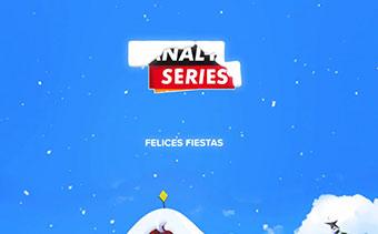Высвобождение логотипа рождественской лисички