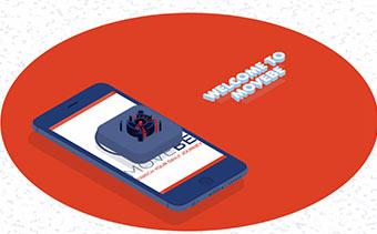 Набор изометрического мобильного приложения