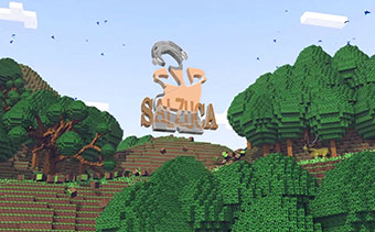 Despliegue de Logo Isla Minecraft