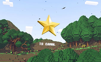 Logotipo Ilha Minecraft