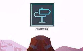 ハイキングアドベンチャーロゴビデオ