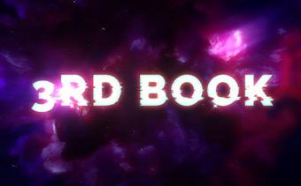 Kosmischer Typografie-Teaser