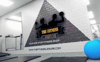 Fitness Logo Animation
