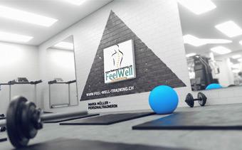 Animacion de Logo Fitness