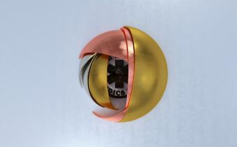 Animation de Logo Sphères 3D