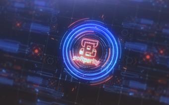 Futuristic HUD Logo