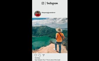 Instagram プロフィールプロモーション
