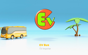 Logo Tour en Bus 3D