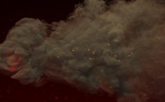 Flammenexplosions-Logo