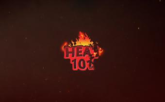 火炎バーストロゴ