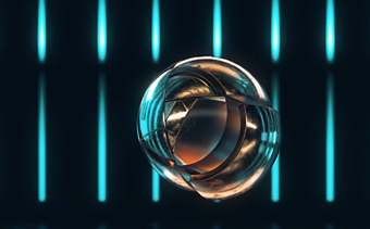 Logo Sphère Futuriste