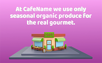 Promoção Café Saudável ou Vegetariano