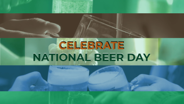 National Beer Day Event Promo