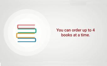 Présentation de l'appli de livraison de livres