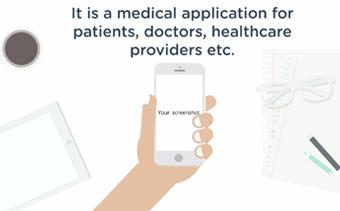 Présentation de l'application sur la santé