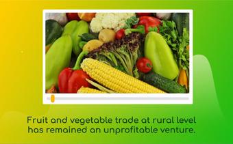 果物と野菜の取引ウェブサイト
