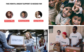 Charity Website Promotion