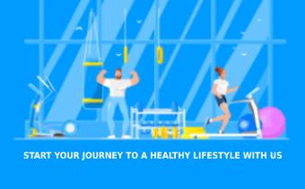 Fitness Club Animated Promo