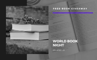 World Book Night Event Promo