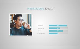 Minimal Video Resume