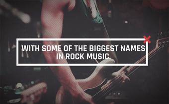 Ouverture du festival de rock