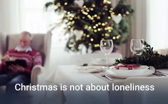 عيد الميلاد لا يتعلق بالوحدة