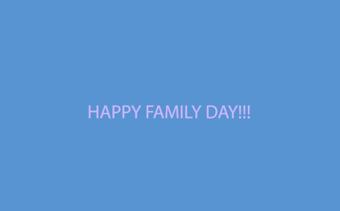 Message vidéo de la Journée de la famille