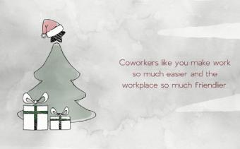 بطاقة تهنئة بعيد الميلاد للأعمال