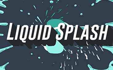 Liquid Splash Logo Reveal