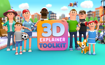 Kit de Herramientas de Video Explicativo 3D