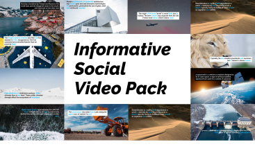 Informative Social Pack