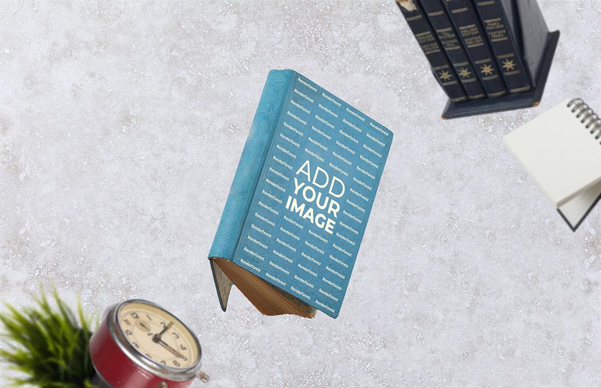 飛翔のハードカバーの古い本
