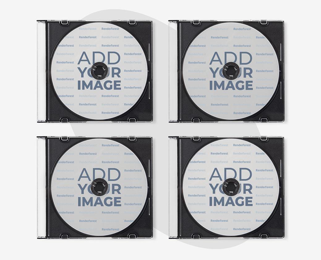 透明ケースとCD4枚
