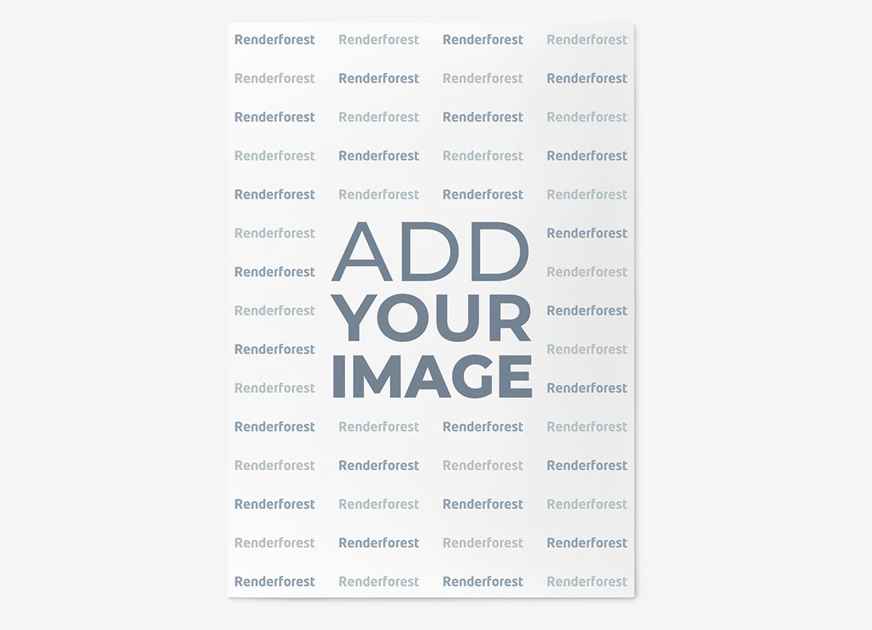 灰色の背景のポスター