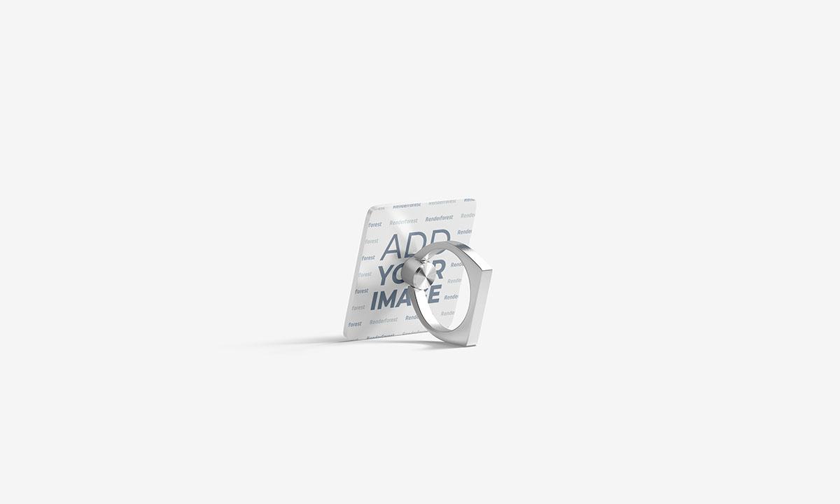 Anel Suporte para Celular Vista Lateral