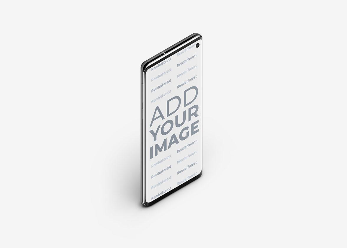 Samsung Galaxy S10 Draufsicht