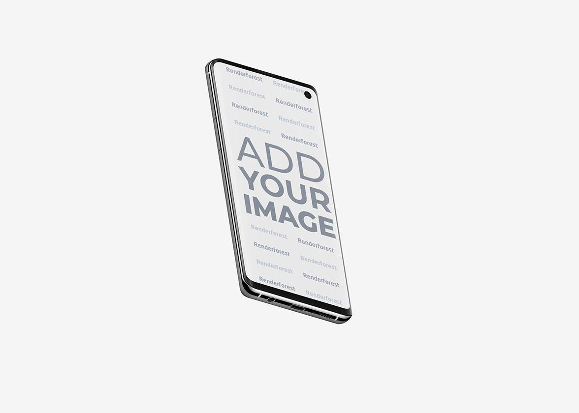 Samsung Galaxy S10 в Воздухе