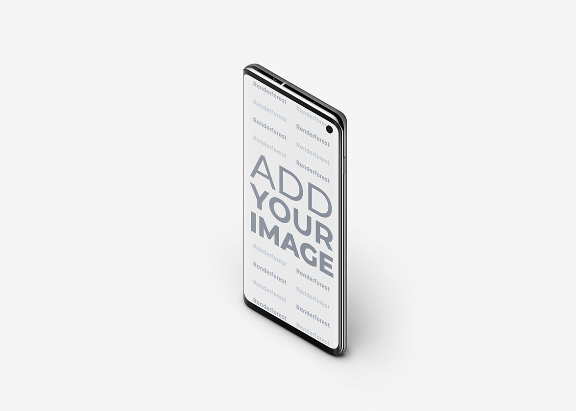 Samsung Galaxy S10 côté supérieur droit