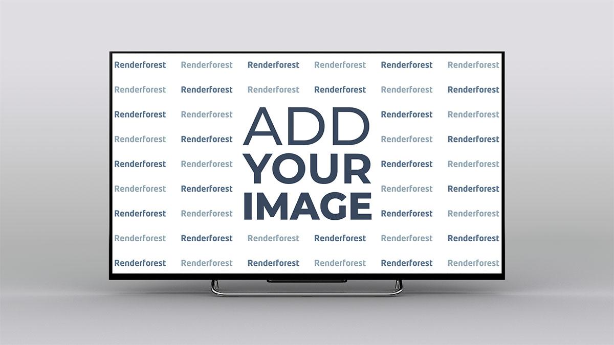 Smart TV Vista de Frente