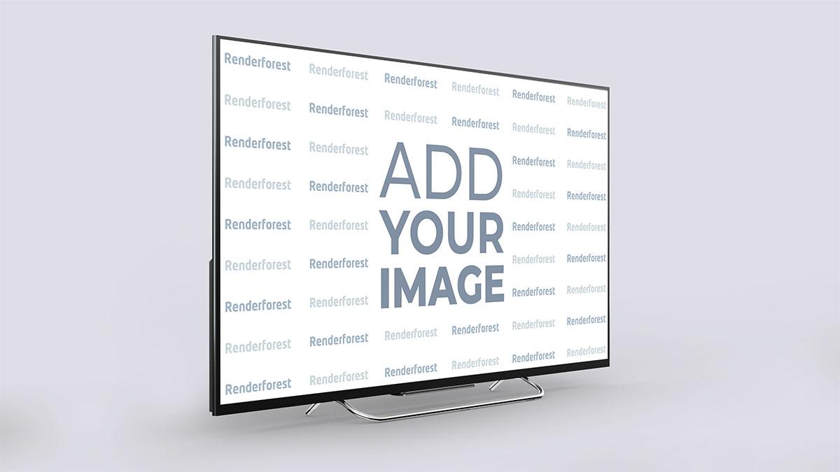Smart TV Linke Seitenansicht