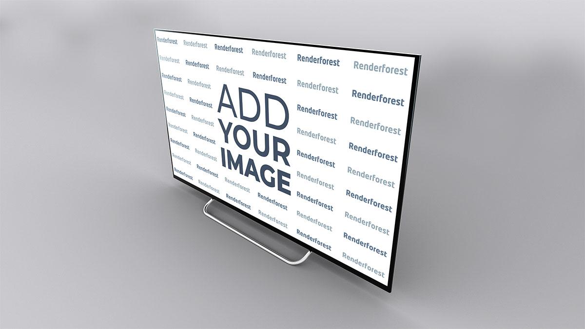 Smart TV Rechte Seitenansicht