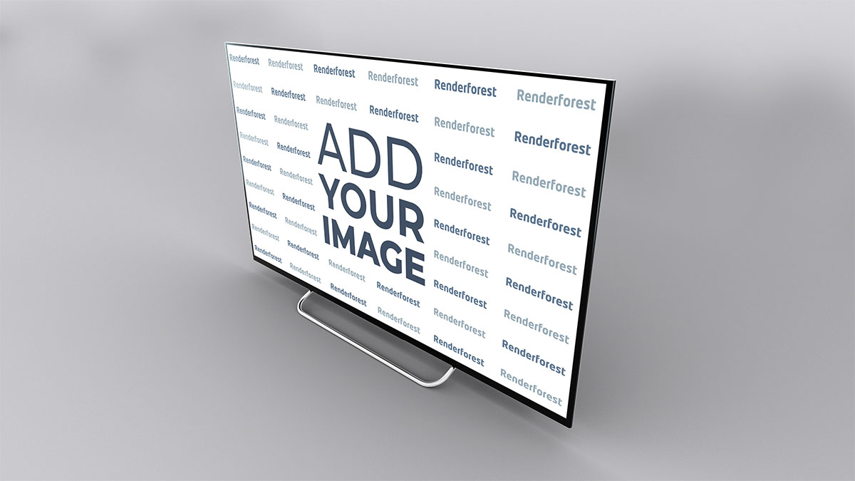 Smart TV Vista Lateral Direita