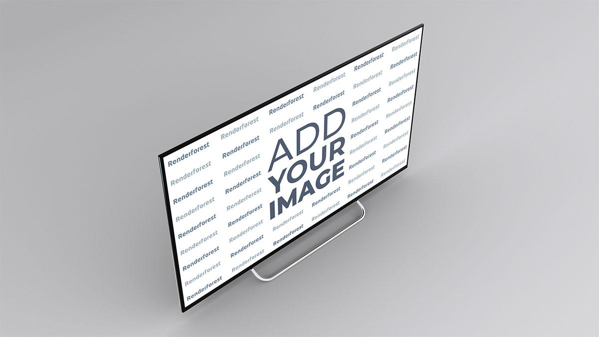 Smart TV Lado Esquerdo da Parte Superior