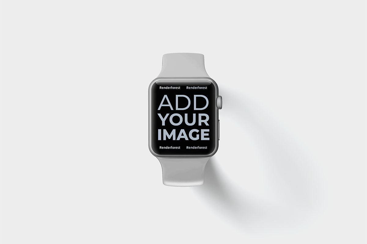 Apple Watch on a Black Surface